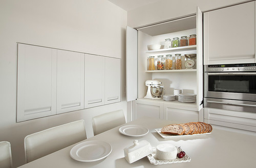 Pocket Kitchen Cabinet Door