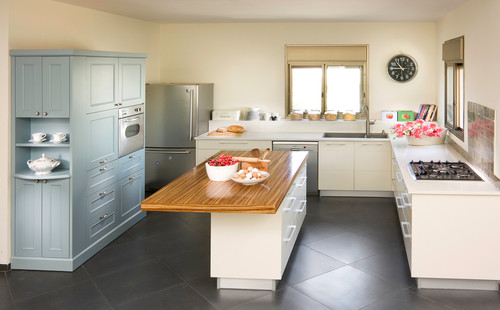 traditional kitchen Flooring Pattern Guide