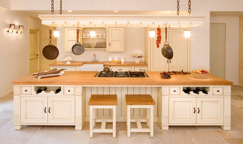 Putting In A Butcher Block Island Like This What Color