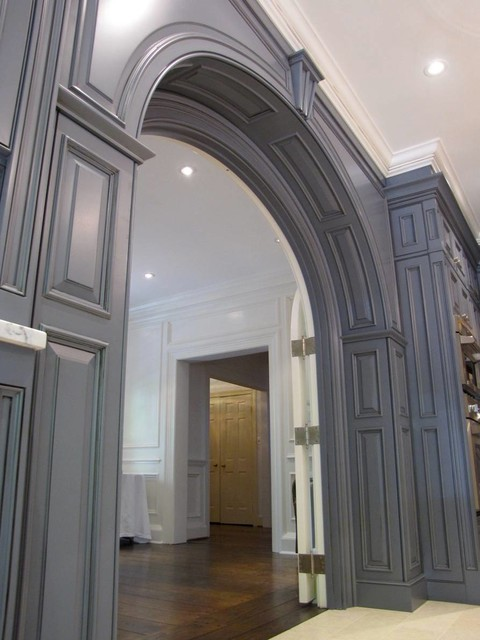 Kitchen Entrance Arch Maryland Kitchen Traditional Kitchen Dc