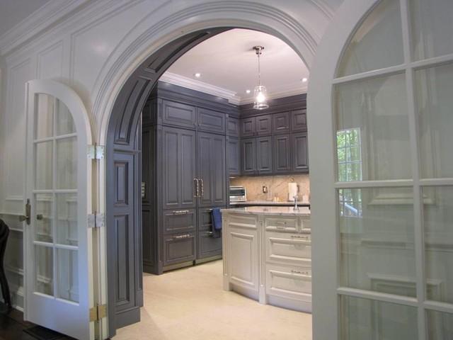 Kitchen Entry Millwork - Traditional - Kitchen - DC Metro - by K International Woodworking