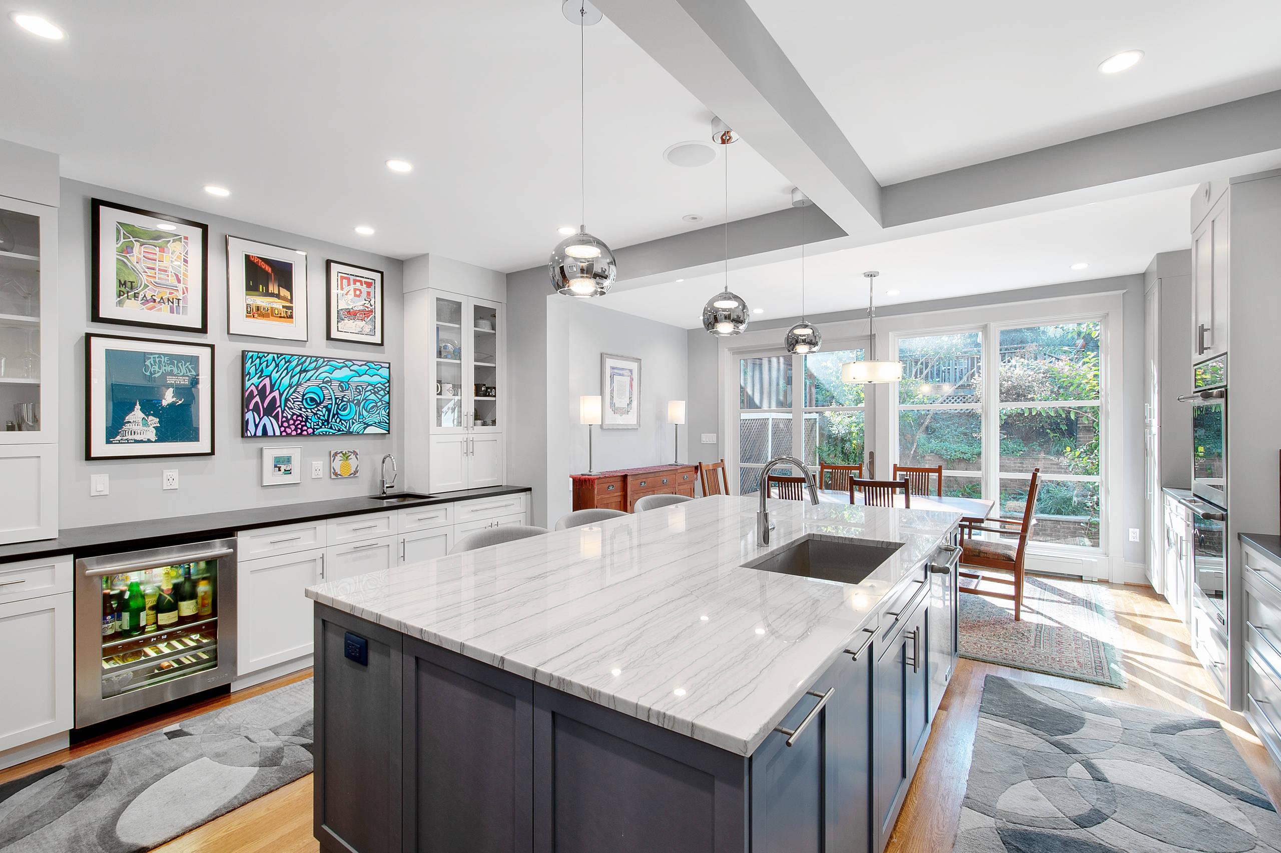 Kitchen Expansion & Interior Remodeling