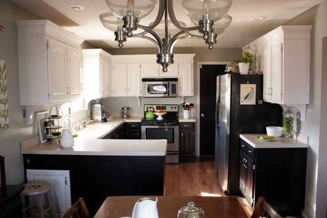 Kitchen Facelift Eclectic Kitchen Pictures