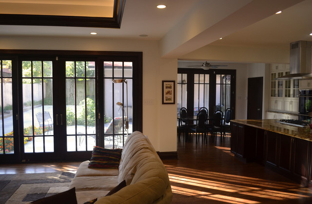 Kitchen Family Room Garage And Master Suite Addition Transitional Kitchen St Louis By