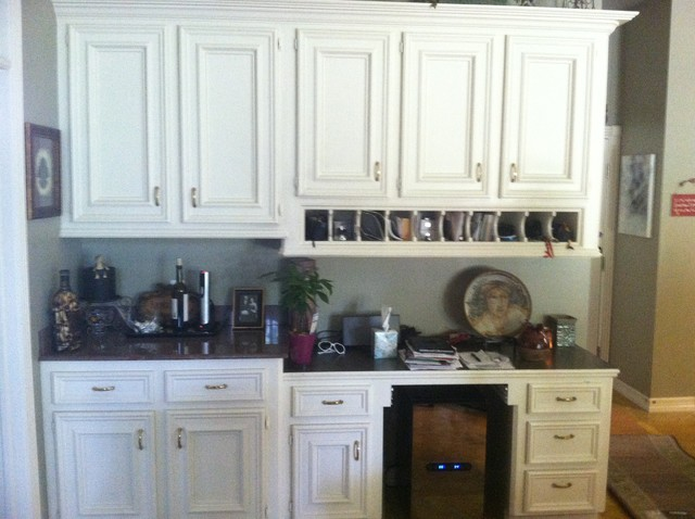 Kitchen Faux Painted Cabinets - Traditional - Kitchen ...