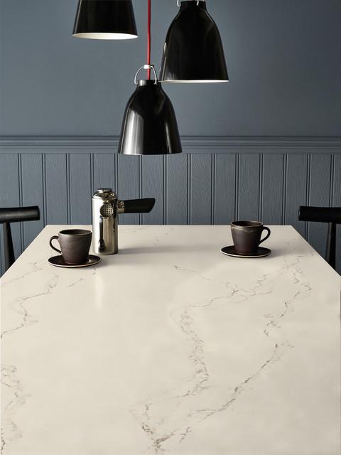 Kitchen Featuring Caesarstone Statuario Nuvo Benchtop