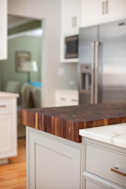Kitchen Featuring Jenn-Air: Designed By: Karen Swanson, New England Design Works contemporary-kitchen