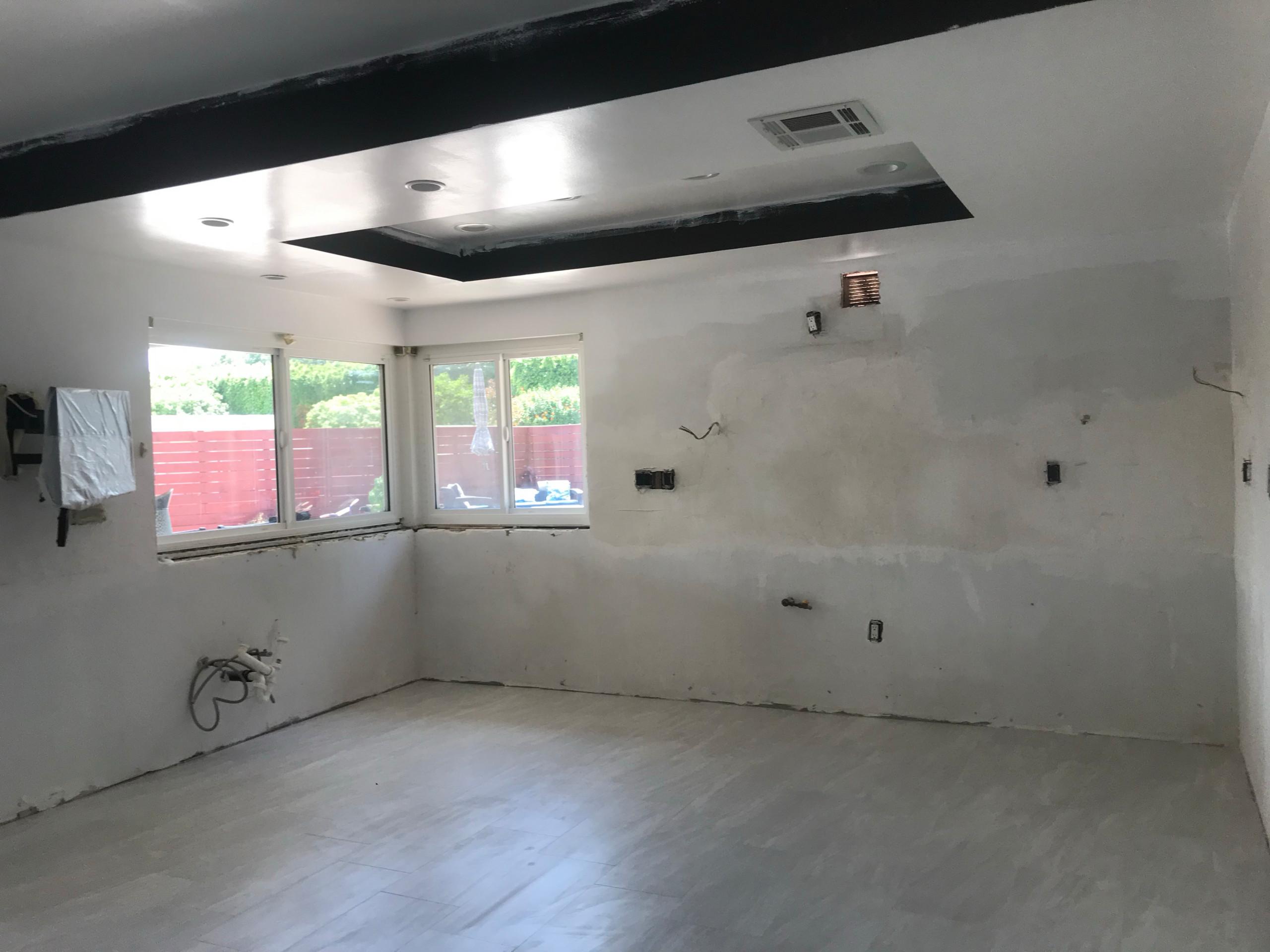 Kitchen flooring 2nd angle