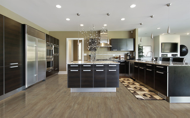 Kitchen Flooring Options Cork Flooring Contemporary