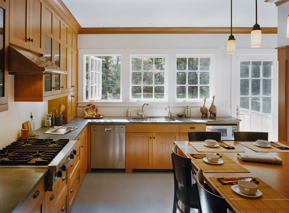 Kitchen For An Arts And Crafts House South Orange Nj Transitional Kitchen New York By Wright Robinson Architects