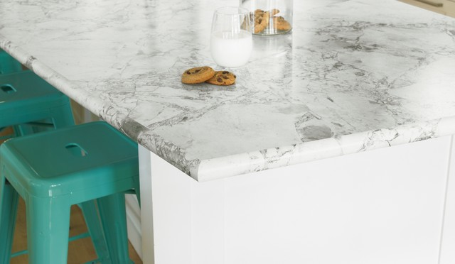 3421-46 Bianca Luna in Etchings™ finish with Bullnose IdealEdge™  kitchen countertops
