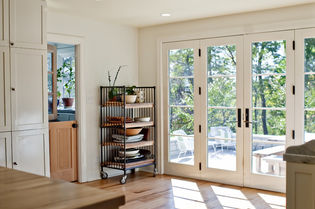 Kitchen French Doors Traditional Kitchen Louisville