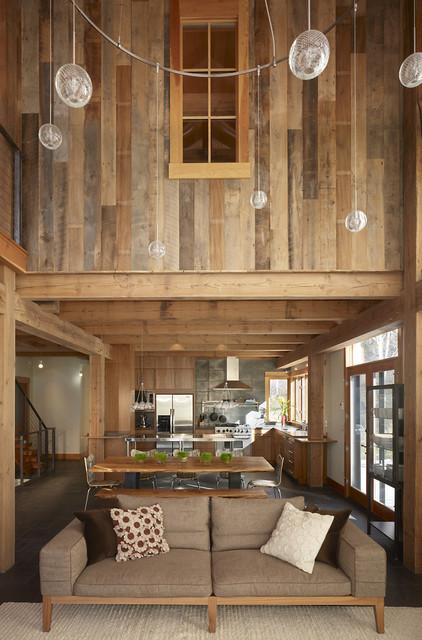 contemporary kitchen by Robert Hawkins