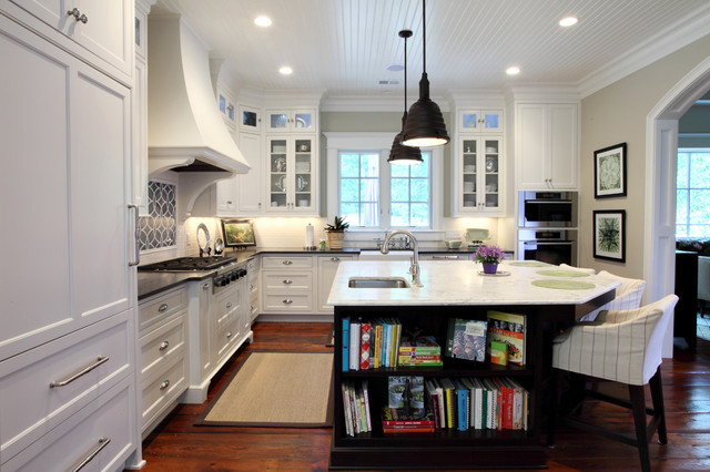 Kitchen contemporary kitchen atlanta by frost for Adding storage above kitchen cabinets