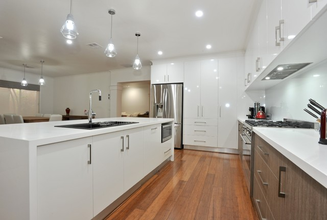 kitchen gallery modern kitchen melbourne by ac v kitchens p l