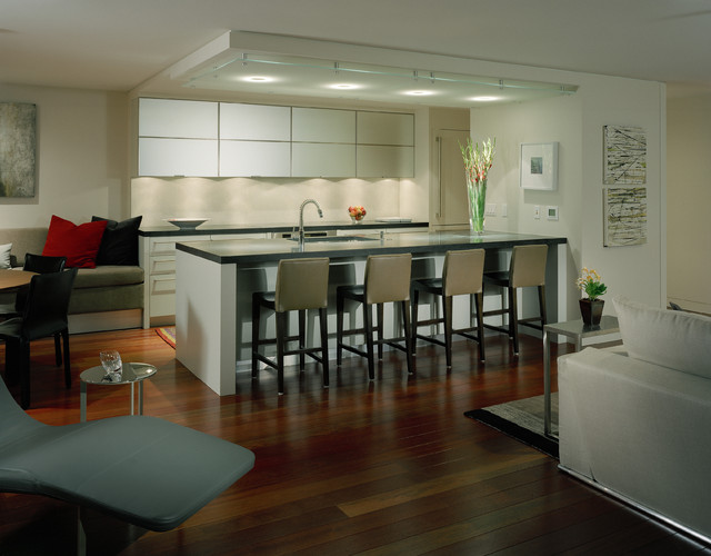 Kitchen contemporary kitchen seattle by garret cord werner architects interior designers - Kitchen designers seattle ...