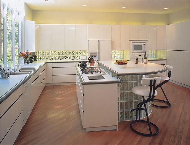 kitchen glass block