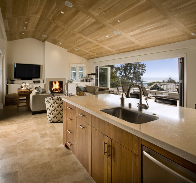 Design For Living Room With Open Kitchen Houzz Home Design: Kitchen/Great Room