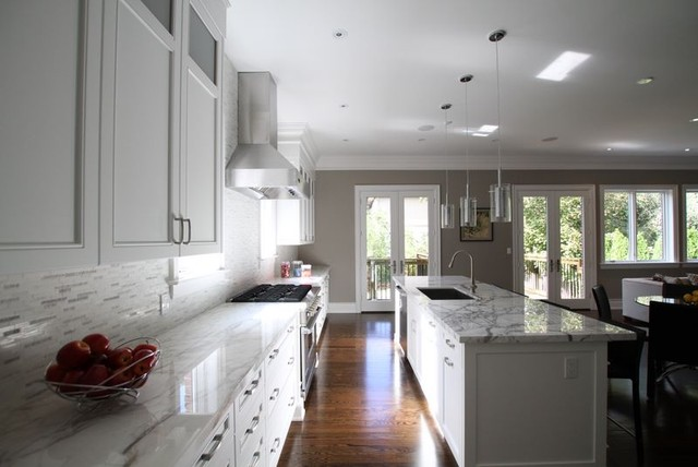 Kitchen Great Room Contemporary Kitchen Toronto By