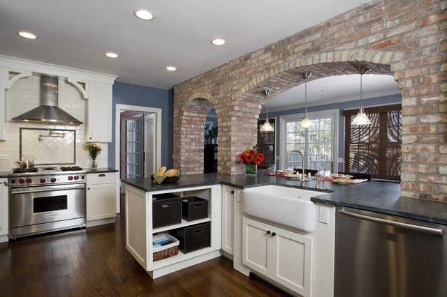 Kitchen traditional kitchen chicago by great rooms designers builders - Chicago kitchen designers ...