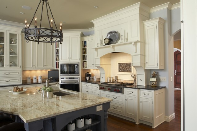 Benjamin Moore Ivory White Kitchen Cabinets Kitchen   American Traditional   Kitchen   Minneapolis   by Hendel