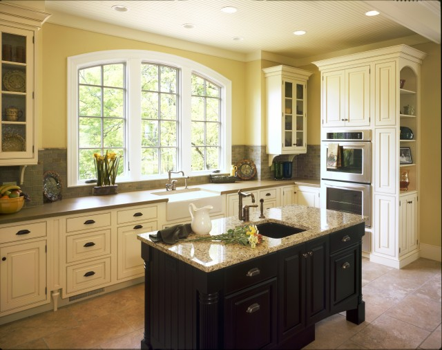 Kitchen traditional kitchen other by hermitage for Gallery kitchens kitchen design