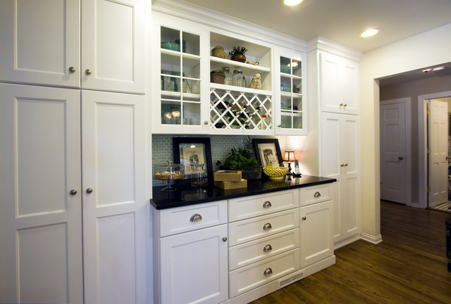 Kitchen hutch - Traditional - Kitchen - chicago - by Mandy Brown