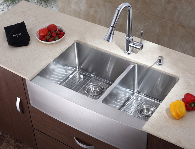 modern kitchen by expressdecor - Kitchen Sinks Photos