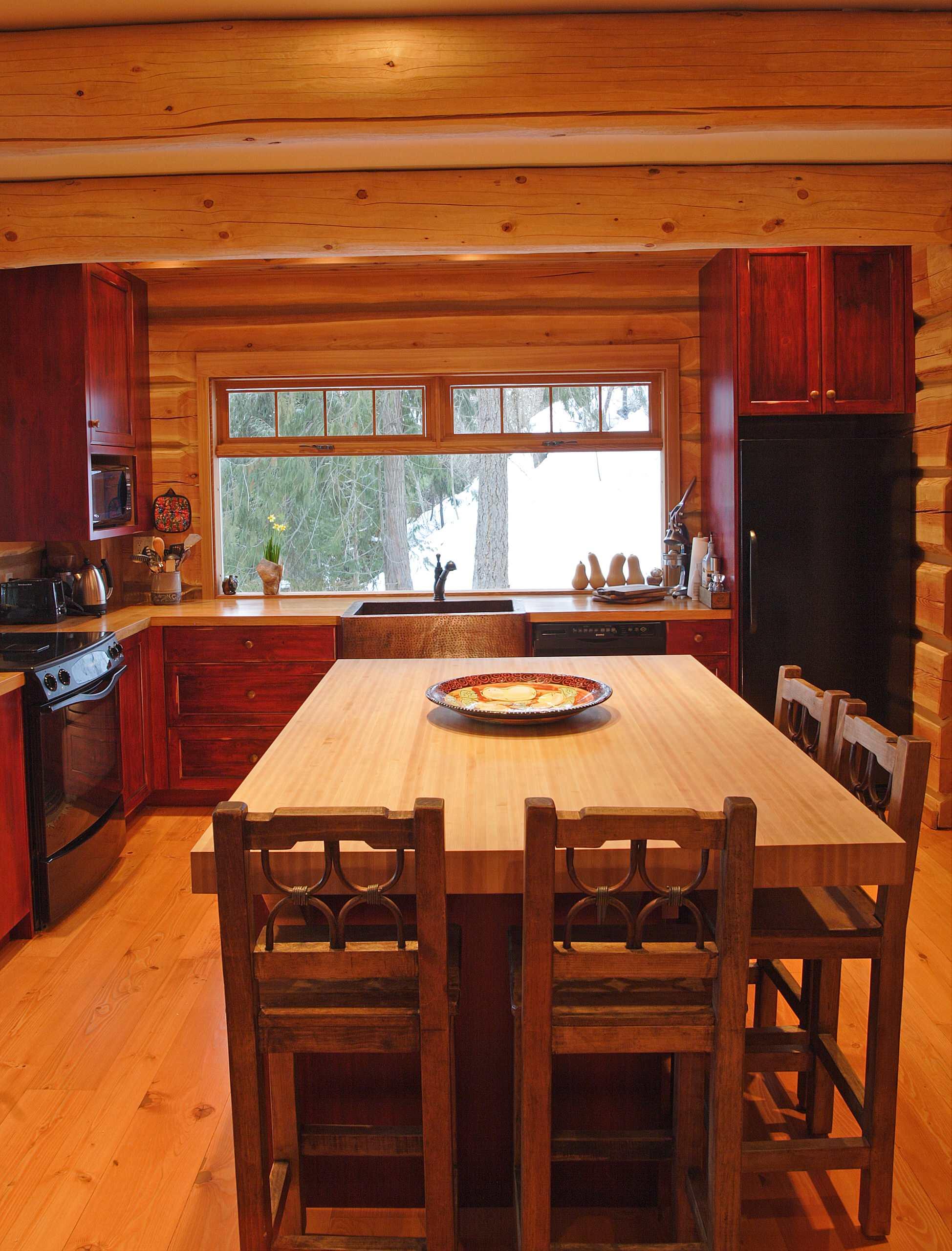 Knotty Pine Kitchen Cabinet Ideas Houzz