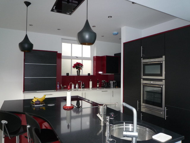 Inspiration for a contemporary kitchen.