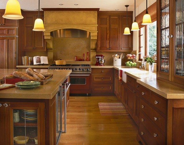 Kitchen In 1930's Mediterranean Style Home