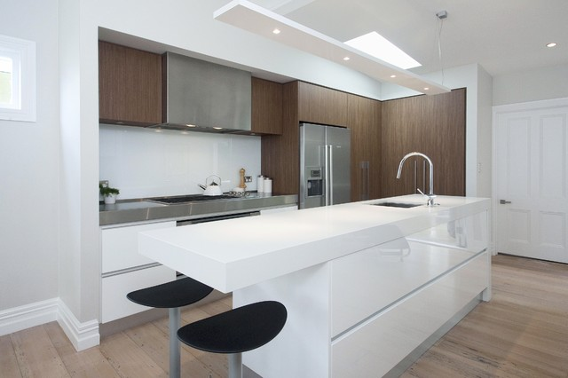 Kitchen In A Small Space Contemporary Kitchen Auckland By Suzanne Allen