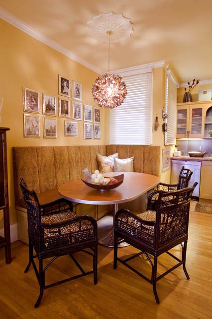 Kitchen in Apartment traditional-kitchen