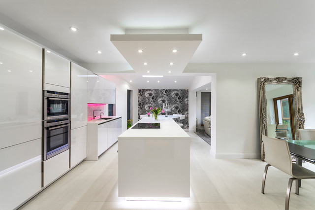 Kitchen In Bowden Cheshire Modern Kitchen Manchester By John Gauld Photography