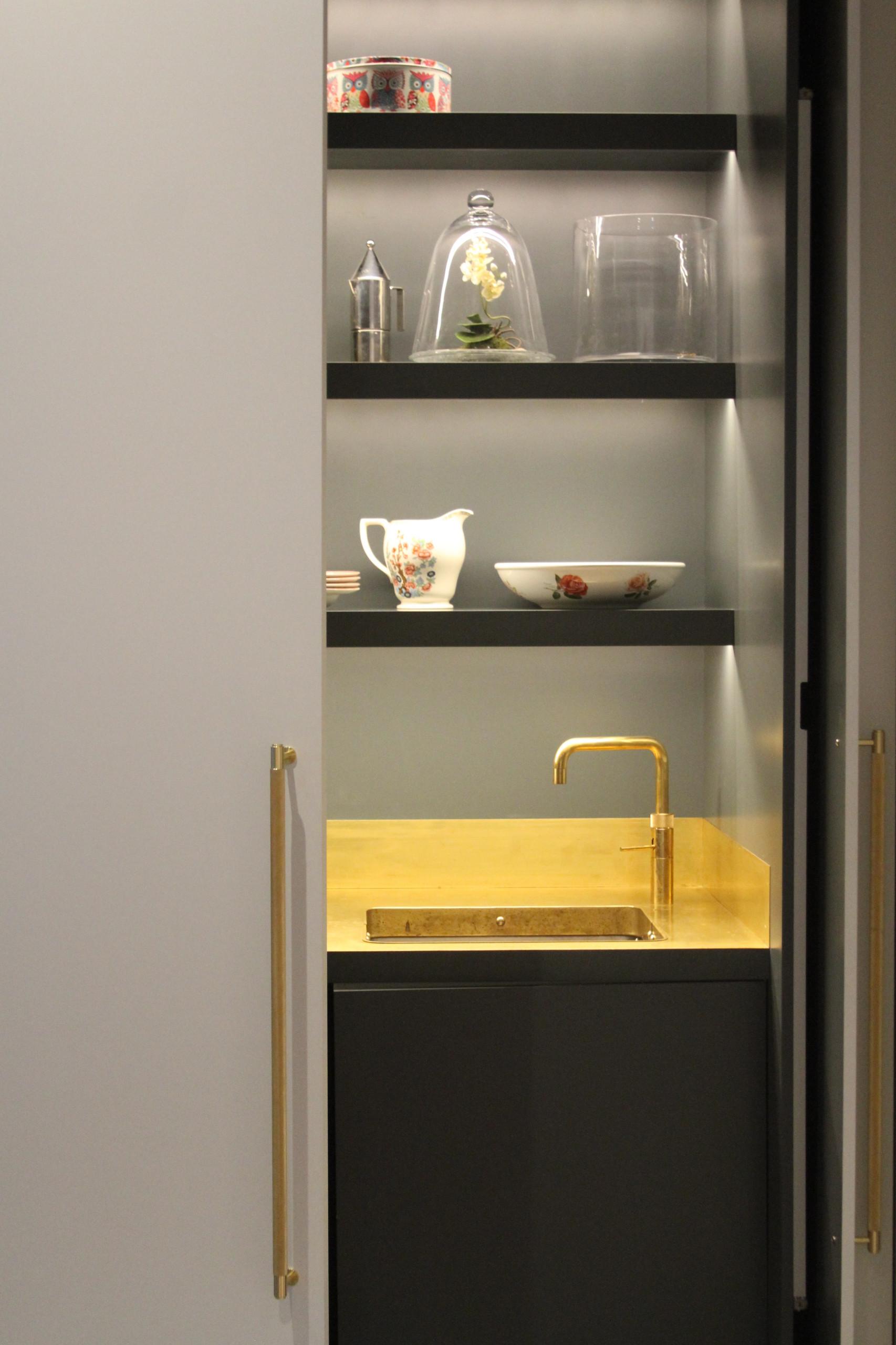 Kitchen in Cupboard