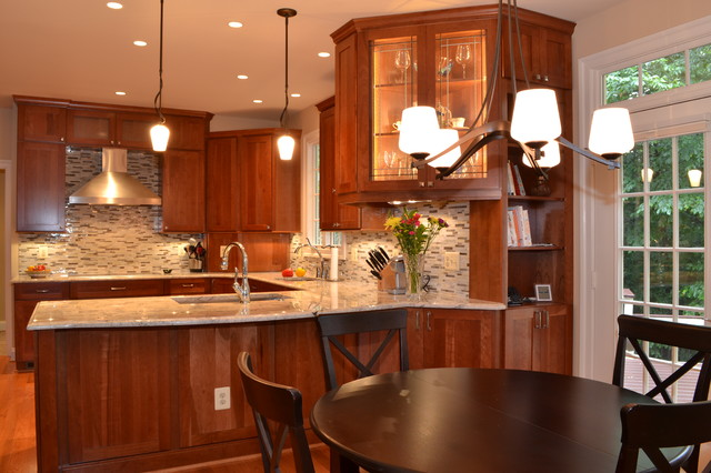 Kitchen in Sterling traditional-kitchen