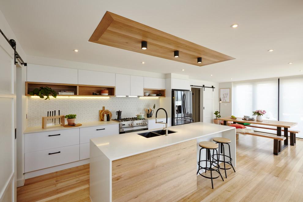 Kitchen Inspiration Scandinavian Contemporary Kitchen Melbourne By Bunnings Warehouse Houzz