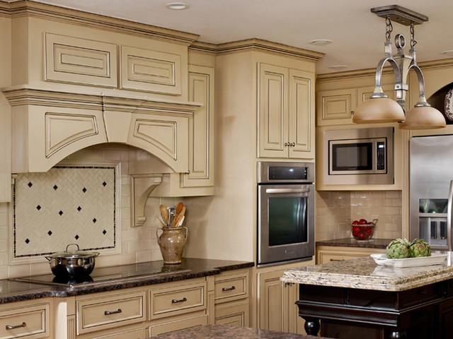 Kitchen Island and Backsplash transitional-kitchen