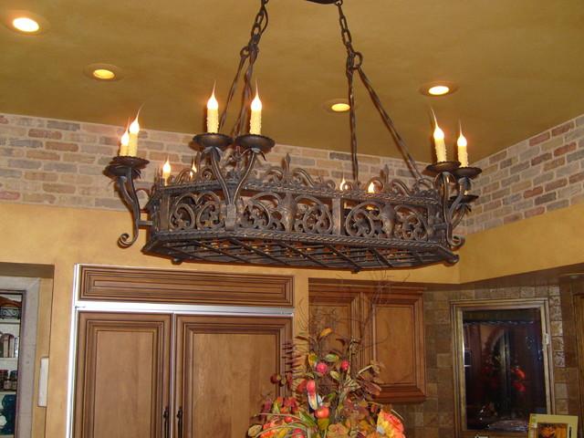 Kitchen Chandeliers Traditional Kitchen island chandelier traditional kitchen phoenix by kitchen island chandelier traditional kitchen audiocablefo