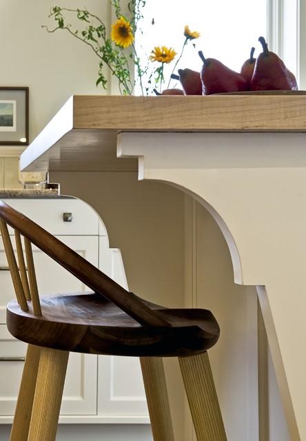 Kitchen Island detail traditional-kitchen