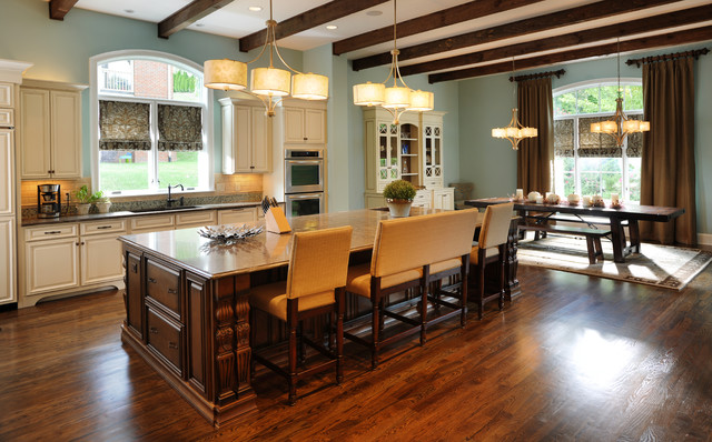 Kitchen island traditional kitchen nashville for Style kitchen nashville