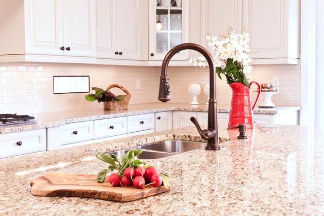 Kitchen Island - Residence Camrose I traditional-kitchen