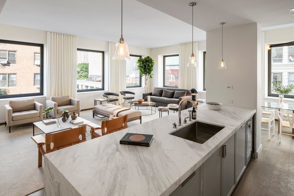 Most Trendy White Marble Worktops in 2020