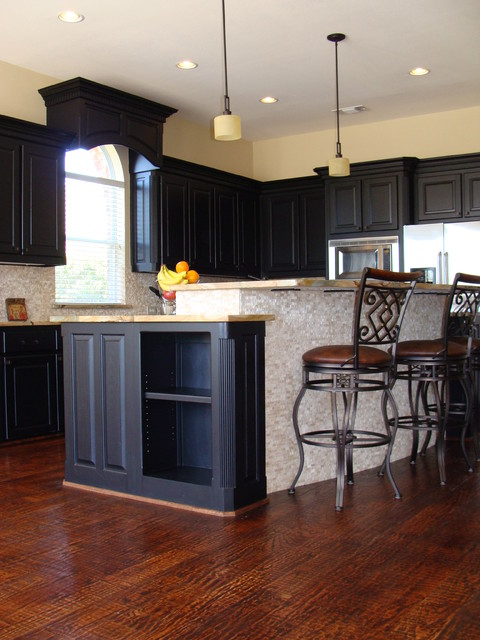 Kitchen Island Traditional Kitchen Dallas By Star Home Remodeling