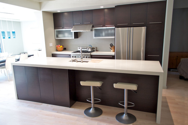 Kitchen island modern-kitchen