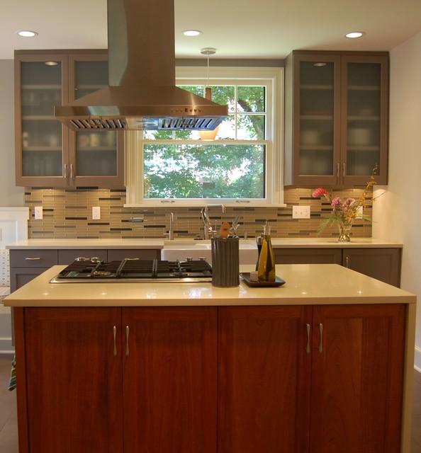 Kitchen island transitional kitchen portland by weedman design partners - Kitchen designers portland oregon ...