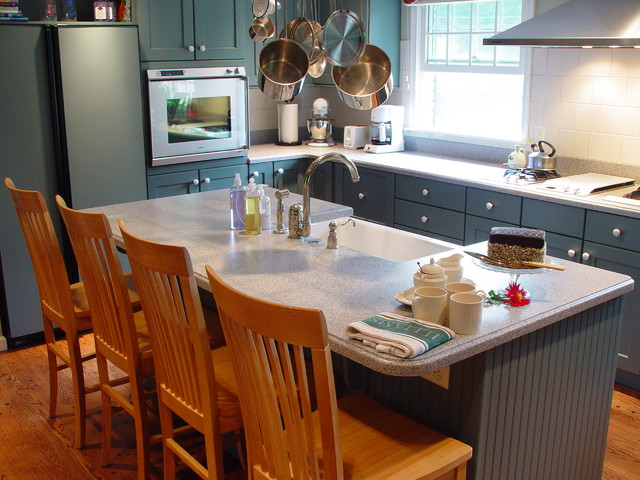 Island Kitchen Sink : Kitchen Island with sink - Transitional - Kitchen - New York - by ...