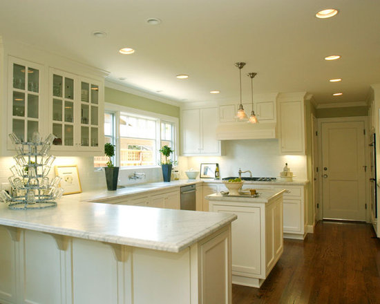 U Shaped Kitchen With Island Design Ideas Pictures Remodel And Decor