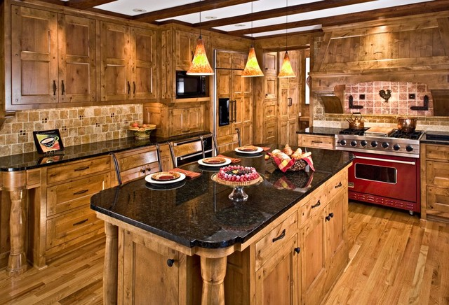 Kitchen - Traditional - Kitchen - minneapolis - by John Kraemer & Sons