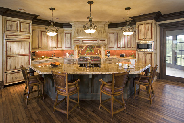 Kitchen traditional kitchen minneapolis by john for Different shaped kitchen island designs with seating
